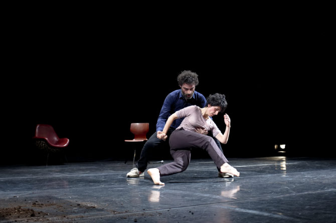 Teresa Navarrete and Nando Pérez perform Salon Otto.  PHOTO: LUIS CASTILLA